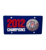 Arizona Baseball National Championship License Plate Frame