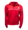 JanSport: 1/4 Zip Sweatshirt Red
