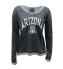 Champion: ARIZONA 'A' Long Sleeve Charcoal Knit Top