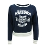 Champion: Ladies Navy Long Sleeve 'Wildcat' Face 1885