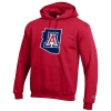 Champion: Arizona State 'A' Outline Hoodie-Red