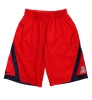 Nike: Dri-Fit Athletic 'A' Logo Shorts<BR>Red