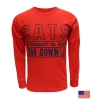 CATS/THE U OF A/<B>BEAR DOWN</B> Red Long-Sleeve