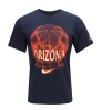 Nike: Flaming Basketball ARIZONA Navy T-Shirt