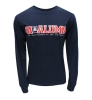 Champion: UA Alumni Long-Sleeve Navy T-Shirt