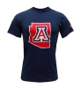 MV Sport: Arizona State Outline Navy Tee