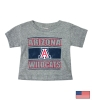 The Game: Arizona 'A' Wildcats Toddler Gray Tee