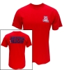 'A'1885 Arizona Wildcats Beardown Red T-Shirt