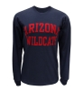 JanSport: <B>ARIZONA WILDCATS</B> Navy Long Sleeve T-Shirt