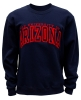 Arch <B>THE UNIVERSITY OF ARIZONA</B> Navy Crew Sweater
