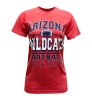 Ladies <B>ARIZONA</B> WILDCATS <B>FOOTBALL</B> Red T-Shirt
