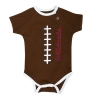 Infant: <I>Wildcats</I> Football Brown Onesie