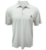 Cutter & Buck: Striated 'A' DryTec Gray Polo