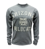 JanSport: UA Outline 'Wildcat' Face Long Sleeve Gray T-Shirt