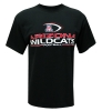 The Game: 'ARIZONA WILDCATS Football' Black Essential Tee