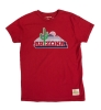 Retro Brand: Arizona Cactus Red Youth T-Shirt
