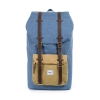 Herschel: Little America Backpack Navy Crosshatch/Straw