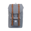 Herschel: Little America Backpack Grey/Tan Synthetic Leather