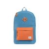 Herschel: Heritage Backpack Cadet Blue/Carrot