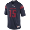 Nike: Arizona Wildcats Navy Replica Game Football Jersey