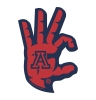 Arizona Wildcats 'WC' Foam Spirit Hand