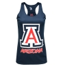 Badger Sport: Navy 'A' Arizona Racerback Tank