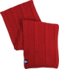 The Game: Arizona Red Cable Knit Scarf