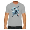 The Victory: Rob Gronkowski Comic Gray T-Shirt