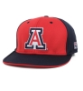 The Game: 'A' Logo Red and Navy Fit Cap