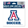 Arizona Soccer  Multi-Use Decal