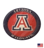 "9"" Arizona 'A' Wildcats Paper Plates (8 Pack)"