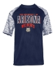 Badger Sport: Arizona Wildcats Navy Blend Tee