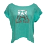 Colosseum - Sea Glass Metallic 'A' High Low Shirt