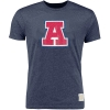 Retro Brand: Arizona Vintage Heather Tri-Blend Tee Navy