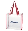 Arizona Zona Zoo Clear Square Red Stadium Tote