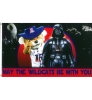"Arizona Star Wars ""MAY THE WILDCTS BE WITH YOU"" Deluxe Flag"