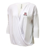 Colosseum: Arizona 'A' Devotion Wrap Top White