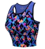 Colosseum: Arizona Exhilaration Crop Tank Kaleidoscope Print