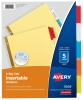 Avery® Big Tab™ Insertable Dividers 5 Multicolor Tabs-1 Set