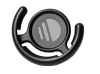 PopSockets: PopClip Mount Popsockets-Black