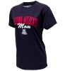 Official Arizona Wear: Arizona 'A' Wildcats Mom Tee Navy