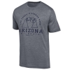 Champion: Arizona Wildcats THE FORCE IS STRONG HERE Tee-Grey