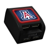Quik Volt: Arizona Wildcats 4-Port USB Wall Charger-Black