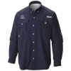 Columbia: Arizona Men's PFG Bahama Long Sleeve Shirt-Navy