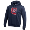 Champion: Arizona State 'A' Outline Hoodie-Navy