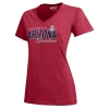 Gear: Arizona University of GRANDMA Mia V-Neck Tee-Red