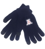 Logofit: Arizona Team Logo Smart Touch uText Gloves - Navy