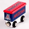 College Team Trains: Arizona Team Logo Boxcar Train