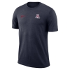 Nike: Arizona 2018 Coaches Sideline Performance Top - Navy