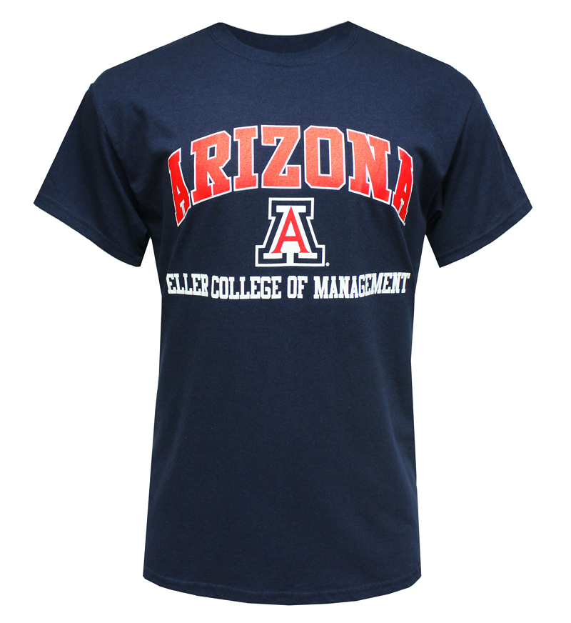 Arizona - Eller College of Management  Navy T-Shirt